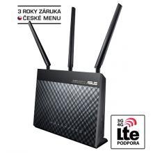 ASUS DSL-AC68U, Dvoupásmový modemový router Wireless-AC1900 Gigabit ADSL/VDSL, Dual Band