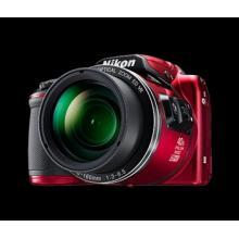 NIKON COOLPIX B500 - 16 MP, 40x zoom VR - Red Fotoaparát