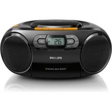 Radiomagnetofon s CD Philips AZ 328 / 12 černý