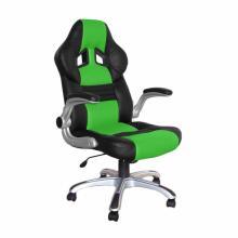 Židle kancelářská RACING PRO ZK-016 černo/zelená