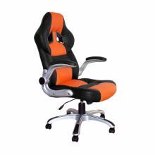 Židle kancelářská RACING PRO ZK-016 černo/oranžová