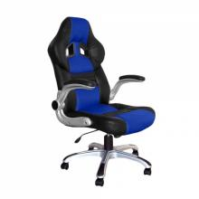 Židle kancelářská RACING PRO ZK-016 černo/modrá