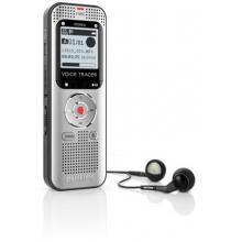 Philips digitální záznamník DVT2000 - 4GB, USB, microSDHC až 32GB, FM, MP3