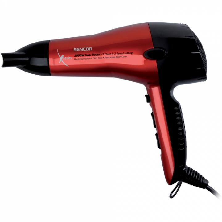 Sencor SHD 6600 vysoušeč vlasů červený
