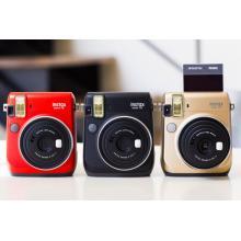 Fujifilm INSTAX MINI 70 - Gold Fotoaparát