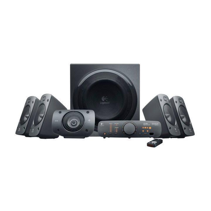 Akce!!! Logitech Repro Speakers Z906, 5.1, 500W RMS, DTS, RCA, opt. vstup, dálk. ovl., THX certifikát