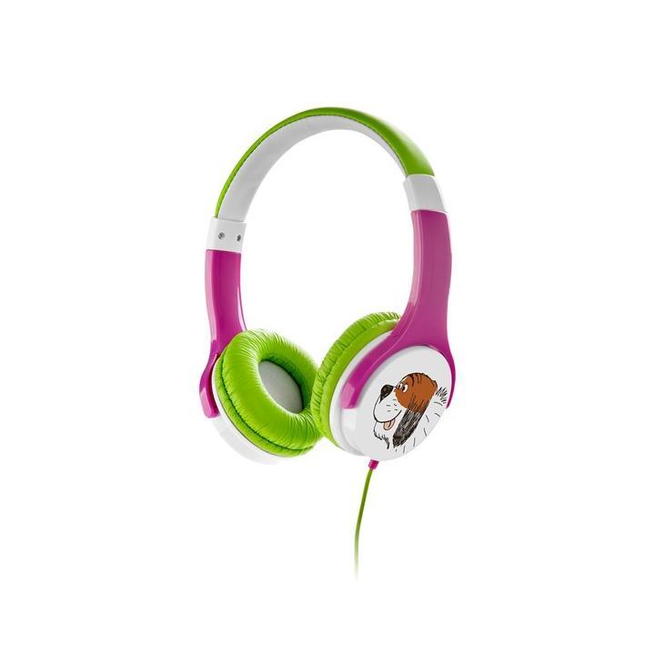 Sluchátka GoGEN MAXISLECHY G růžovo-zelená