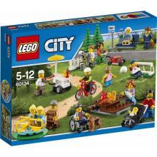 Lego City Zábava v parku lidé z města
