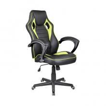 Židle kancelářská  RACING PRO ZK-015 reflexní-černo-zelená
