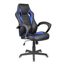 Židle kancelářská RACING PRO ZK-015 černo-modrá