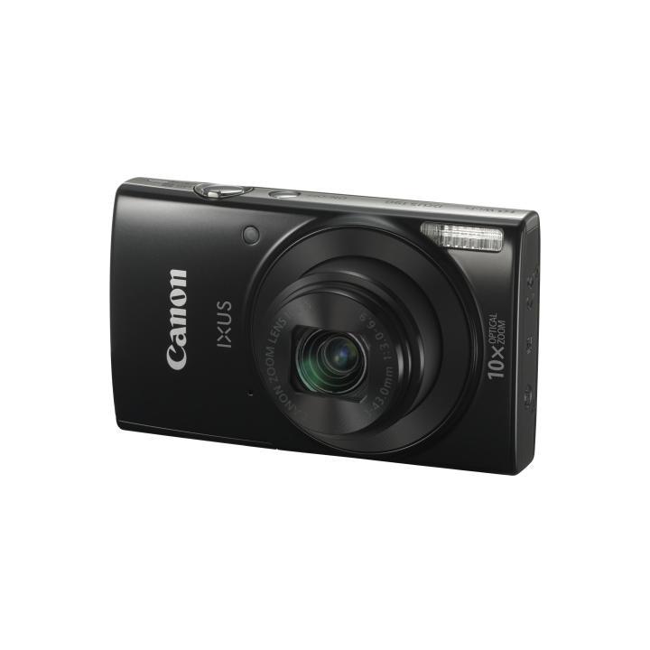 Canon IXUS 190 BLACK - 20MP, 10x zoom, 24-240mm, 2,7