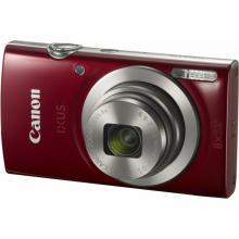 Canon IXUS 185 RED - 20MP, 8x zoom, 28-224mm, 2,7