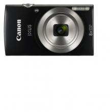 Canon IXUS 185 BLACK - 20MP, 8x zoom, 28-224mm, 2,7