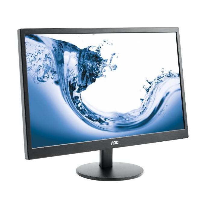 """AOC LCD E2770SH 27"""" TN W-LED/1920x1080/1000:1/1ms/300 cd/VGA/HDMI/DVI/Repro/Black"""