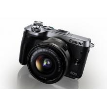 Canon EOS M6 Body Silver + EF-M 15-45 IS STM + EF-M 55-200
