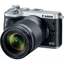 Canon EOS M6 Body Silver + EF-M 18-150 IS STM,  bezzrcadlovka
