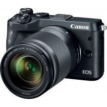 Canon EOS M6 Body Black + EF-M 18-150 IS STM,  bezzrcadlovka