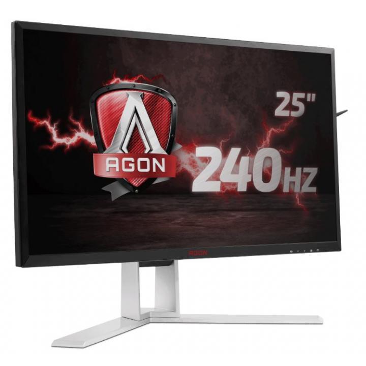 """AOC LCD AG251FZ 24,5""""wide/1920x1080 - 240Hz/1ms/50m:1/VGA/DVI/HDMI/4xUSB/DP/repro/vesa"""
