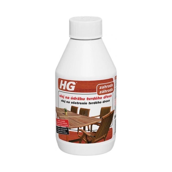 HG Olej na údržbu tvrdého dřeva 250ml