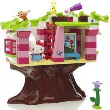 Mega Bloks Hello Kitty domek na stromě Tree House 10931