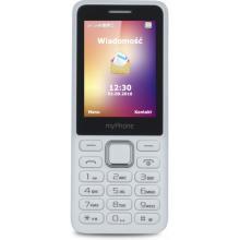 myPhone 6310 bílý mobilní telefon