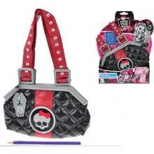 Monster High 23x15 cm hrající kabelka