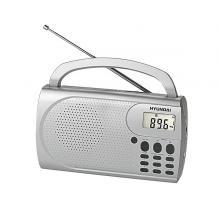 Hyundai PR 300 PLLS stříbrný Radiopřijímač