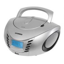 Hyundai TRC 182 ADRU3SB,  CD/MP3/USB, stříbrný/černý Radiopřijímač