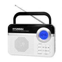 Hyundai PR 471 PLL SU WS radiopřijímač, digitální FM tuner, USB a mikro SD vstup, bílý