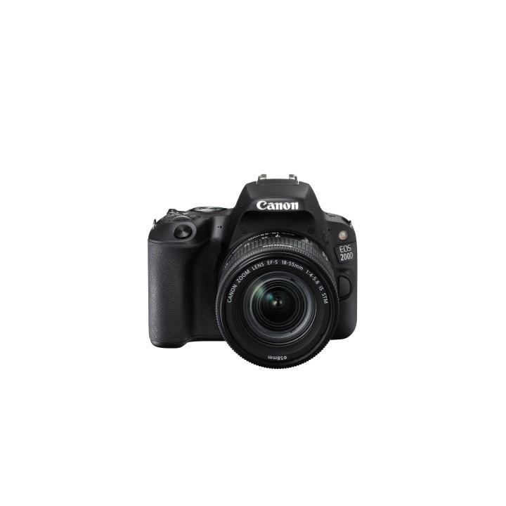 Canon EOS 200D + 18-55 STM black 2250C002