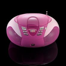 Lenco SCD 37 PINK Radio s CD