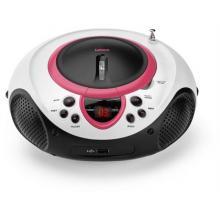 Lenco SCD-38 USB, růžové Radio s CD