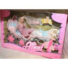 Princezna s kočárem 83063