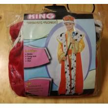 šaty král - karneval
