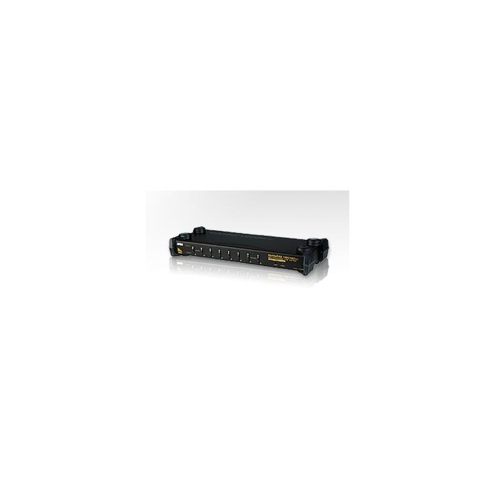 "ATEN KVM switch CS-1758 USB&PS2 8PC , OSD, 19"" rack"