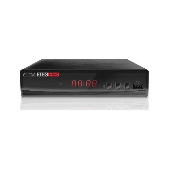 ALMA 2800 (H.265/HEVC) - DVB-T/T2 přijímač