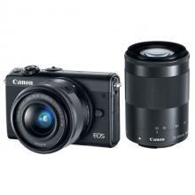 Canon EOS M100 Black + EF-M 15-45mm f/3.5-6.3 IS STM + EF-M 55-200mm f/4.5-6.3 IS STM