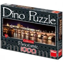 Puzzle 1000 Hradčany v noci