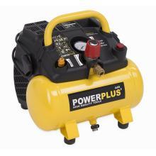 PowerPlus POWX 1721 bezolejový kompresor