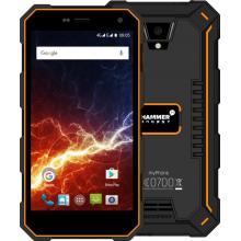 myPhone HAMMER ENERGY oranžový mobilní telefon odolný