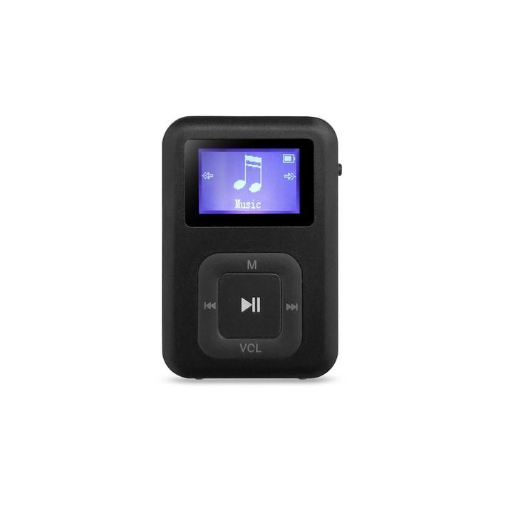 AQ MP01 BK MP3 přehrávač černý