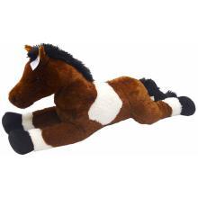 Rappa Plyšový kůň MAXI 100cm tmavý
