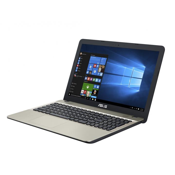 "ASUS X541NA-GO120T Celeron N3350/4GB/500GB/Graphics Share/15,6"" HD lesklý/BT/W10 Home/Black/Gold"