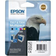 EPSON cartridge T0074 (black+color) multipack (orel)