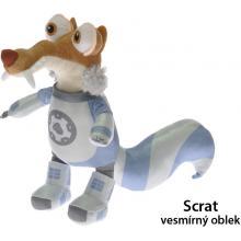 Doba Ledová 5 Nylex kamarádi Scrat vesmírný oblek 30 cm 20703
