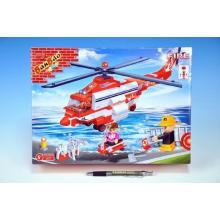 BanBao stavebnice Fire hasičský vrtulník 272ks 30078