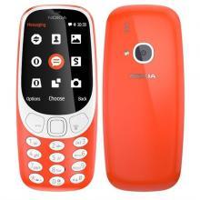 Nokia 3310 Dual SIM - červený Mobilní telefon