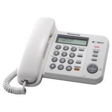 Panasonic KX-TS580FXW - jednolinkový telefon, bílý