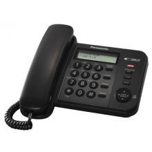 Panasonic KX-TS560FXB - jednolinkový telefon, černý