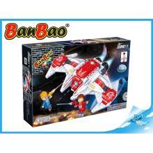 BanBao stavebnice Journey V vesmírná loď BB-132 se světlem